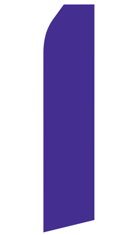 Purple Swooper Flag