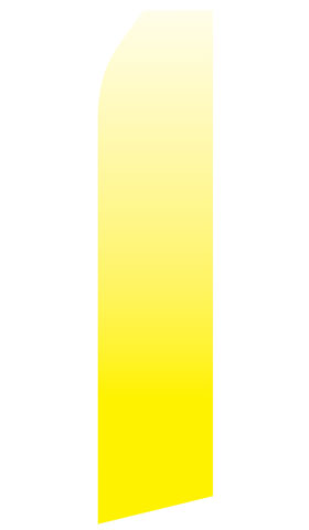 Yellow Gradient Swooper Flag
